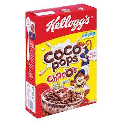 KELLOGGS C/POPS CHOC'O'S 500GR