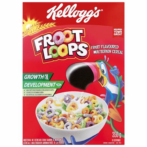 KELLOGGS FROOT LOOPS 350GR