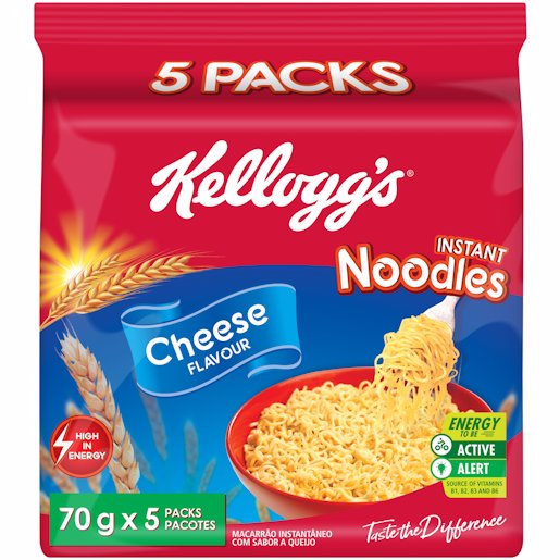 KELLOGGS NOODLES CHEESE 5'S