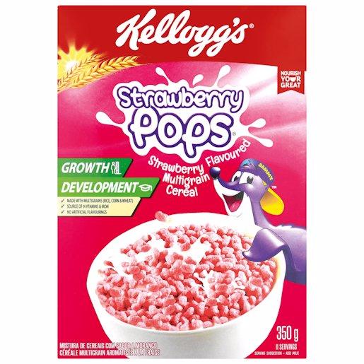 KELLOGGS C/POPS S/BERRY 350GR