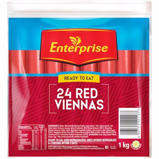 ENT VIENNAS RED 1KG