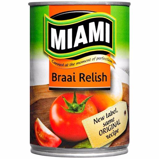 MIAMI BRAAI RELISH 410G