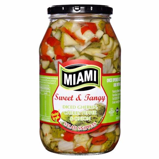 MIAMI GHERK DICE ON&CHER 760GR