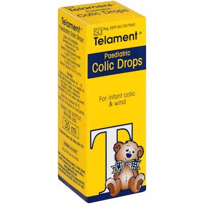 TELAMENT PAEDIATRIC COLIC DROPS 30ML