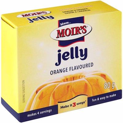 MOIR'S JELLY ORANGE FLAVOUR 80G