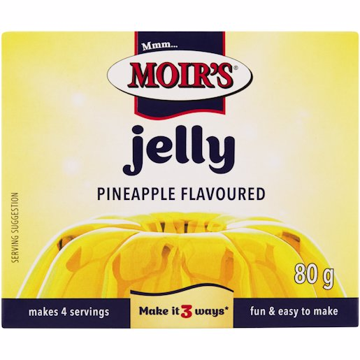 MOIRS JELLY PINEAPPLE 80GR