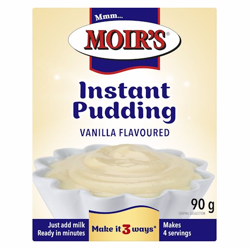 MOIRS PUDDING INSTANT VANILLA 90GR