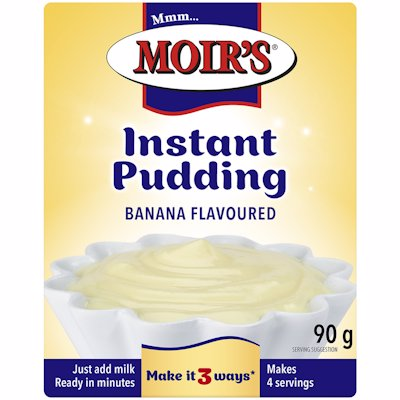 MOIR'S INSTANT PUDDING BANANA FLAVOUR 90G