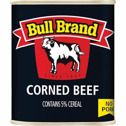 BULL BRAND CORNED BEEF 300GR