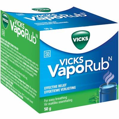 VICKS VAPORUB JAR 50G