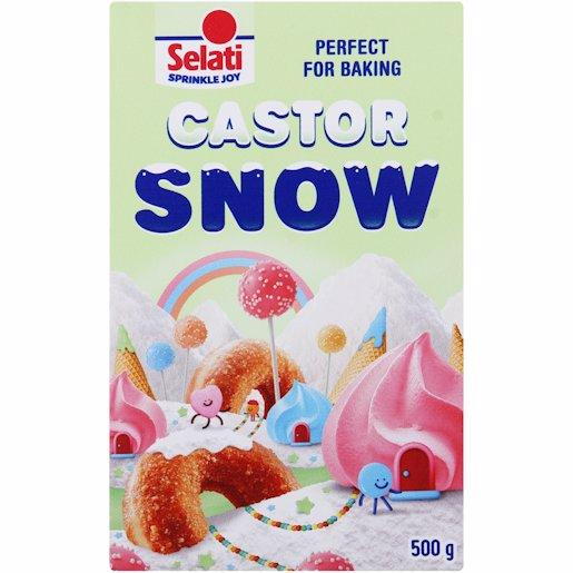 SELATI SUGAR CASTOR SNOW 500GR