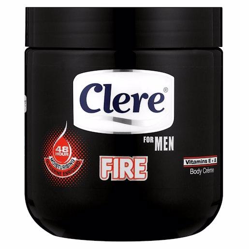 CLERE CREAM MEN FIRE 450ML