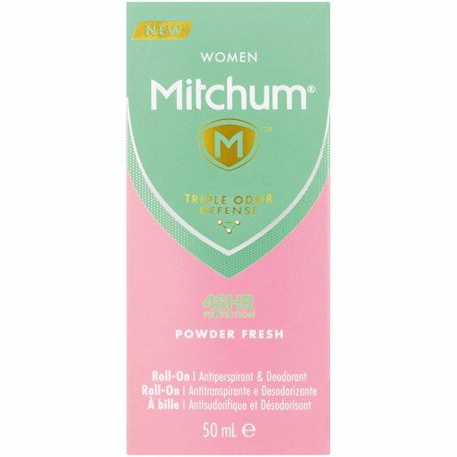 MITCHUM R/ON WOM POWDER F 50ML