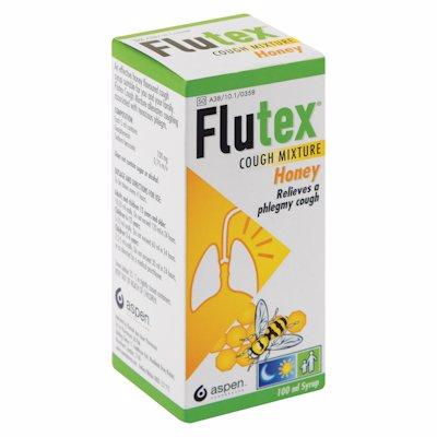 FLUTEX COUGH MIXTURE HONEY 100ML