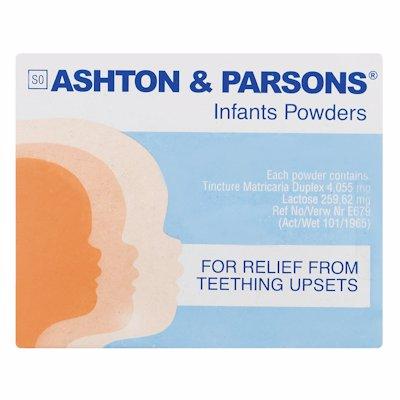 ASHTON & PARSONS 1'S