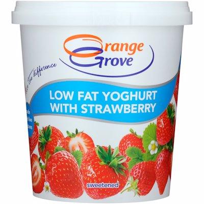 O/GROVE L/F YOG STRAWBERY 1KG