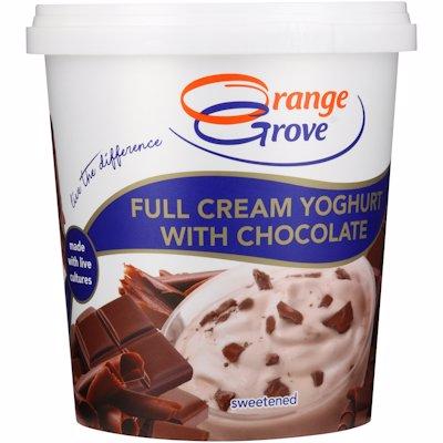 O/GROVE L/F YOG CHOCOLATE 1KG
