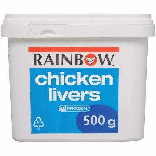 R/BOW CHICK LIVER 500G 500GR