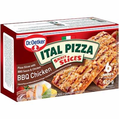 ITAL PIZZA SNACK SLICES BBQ CHICKEN 420G