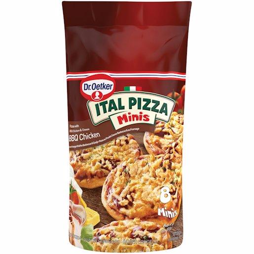 ITAL PIZZA BBQ CHICKEN 664GR