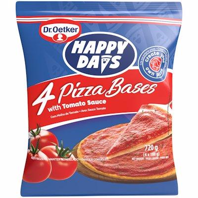 DR OETKER HAPPY DAYS PIZZA BASE 4'S 4'S