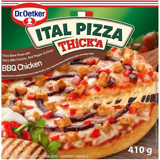 ITAL PIZZA THICKA BBQ CH 410GR