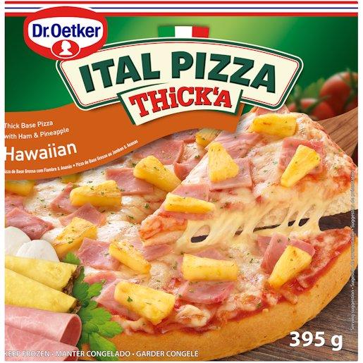 ITAL PIZZA THICKA HAWAII 395GR