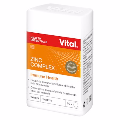 VITA HEALTHL ZINC COMPLEX 100'S