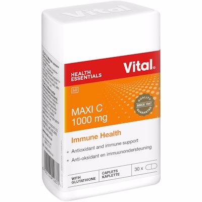 VITAL HEALTH MAXI C 1000MG 30'S
