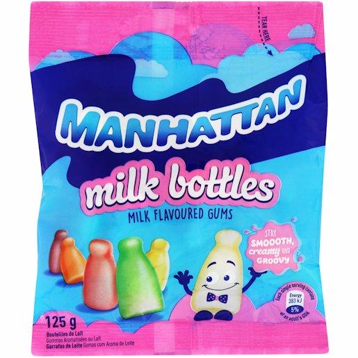 MANHATTAN MILK BOTTLES 125GM