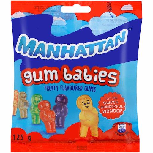MANHATTAN GUM BABIES 125GM