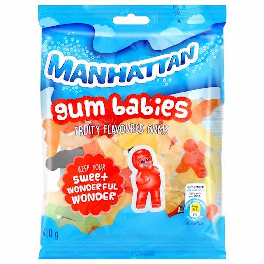 MANHATTAN GUM BABIES 400GM