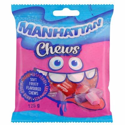 MANHATTAN CHEWS 125GR