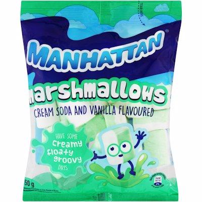 MANHATTAN MALLOWS CREAM SODA 150GR