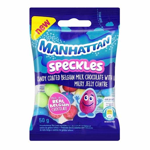 MANHATTAN SPECKLES CHOC 50GR