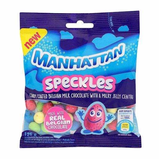 MANHATTAN SPECKLES CHOC 125GR