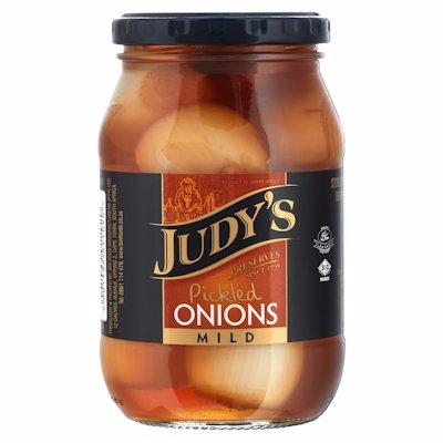 JUDY'S PICKLED ONION MILD 410G