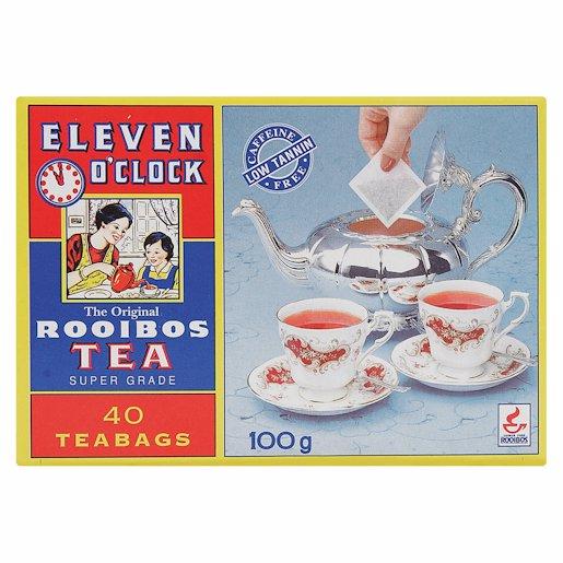 11 O'CLOCK ROOIBOS TEABAGS 40'S