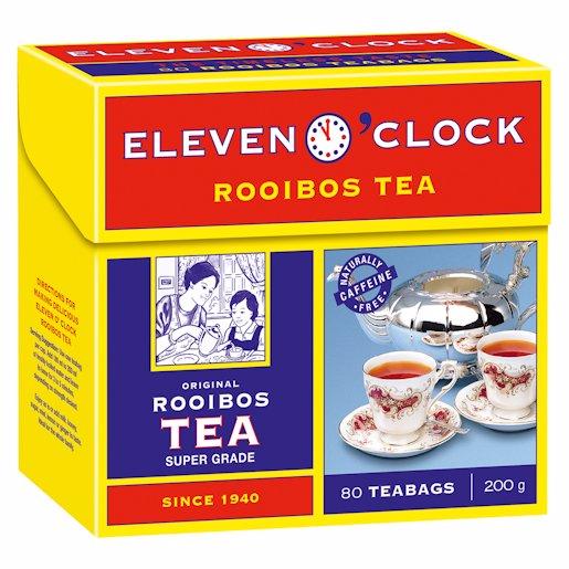 11 O'CLOCK ROOIBOS T/LESS 80'S