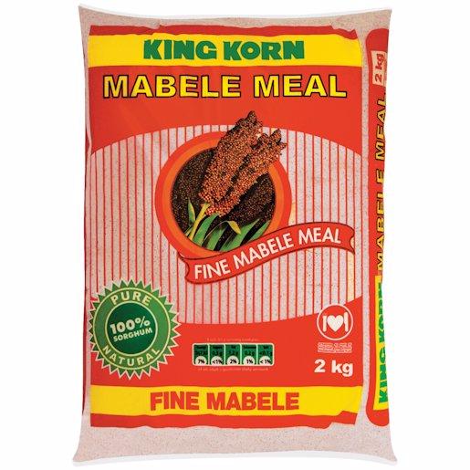 KING KORN FINE MABELE MEAL 2KG 2KG