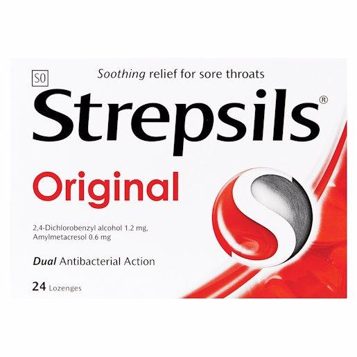 STREPSILS LOZENGES ORIGINAL 24'S