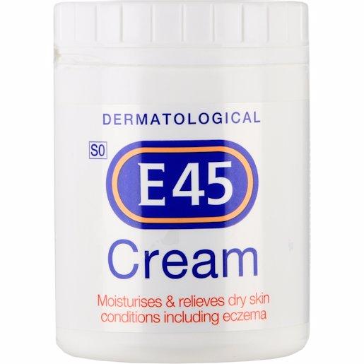 E45 MOISTURISING CREAM 500GR