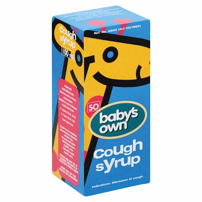 BABYS OWN COUGH SYRUP 100ML