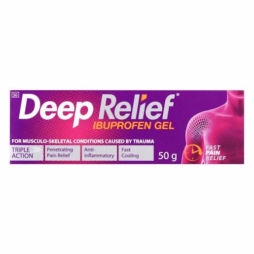 DEEP RELIEF PAIN REL GEL 50GR