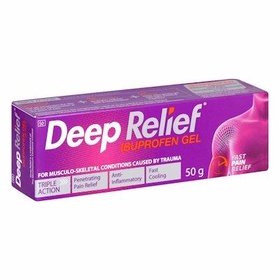 DEEP RELIEF PAIN RELIEF GEL 50GR