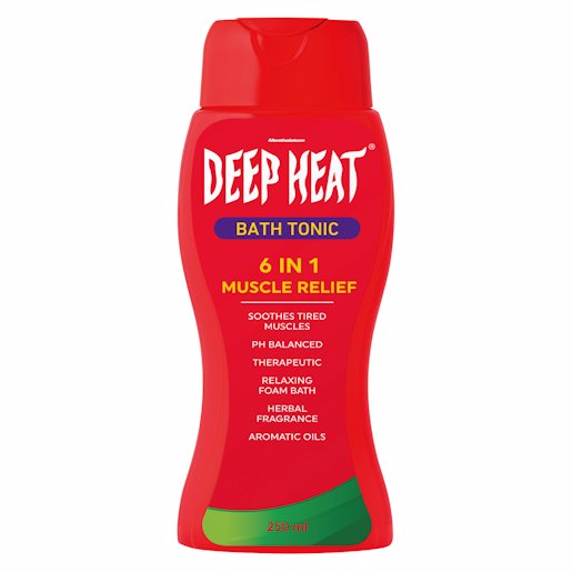 DEEP HEAT BATH TONIC REG 250ML