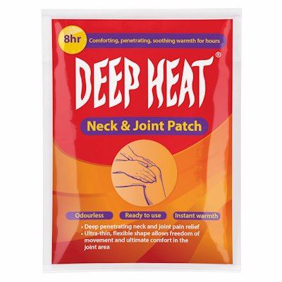 DEEP HEAT NECK & JOINT PATCH 1'S