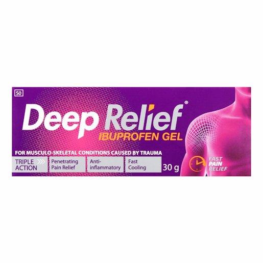 DEEP RELIEF PAIN REL GEL 30GR