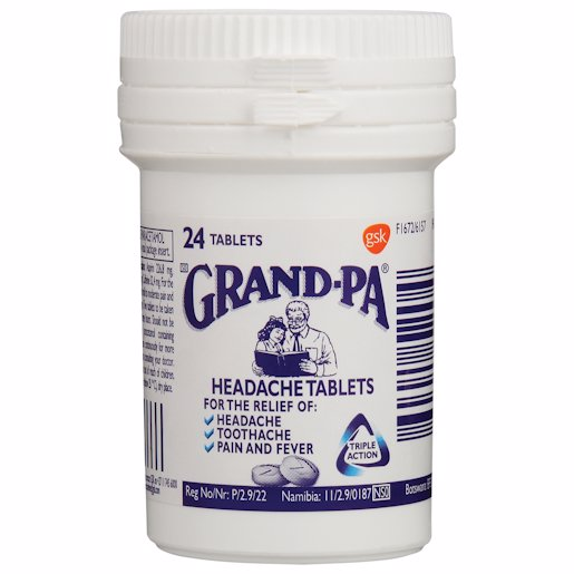 GRANDPA TABLETS (TRACER PACK) 24'S