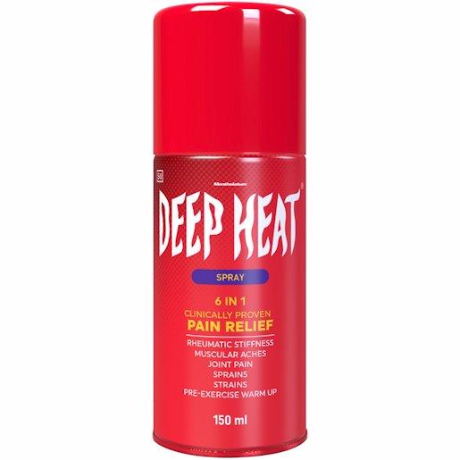 DEEP HEAT SPRAY 150ML
